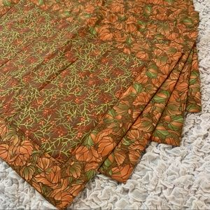 Fall Quilted Placemats, Four